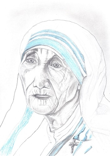 Mother Teresa by isabel